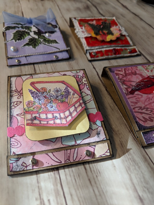 Show and Share: Miniature Art Matchbooks