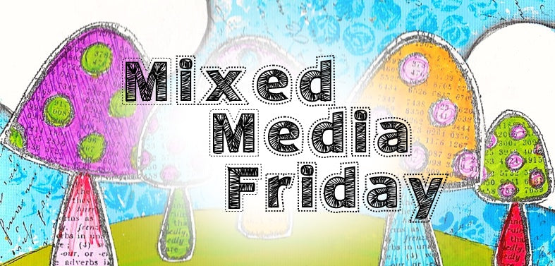 Mixed Media Friday: Art Marks 30 Day Challenge Video Share