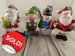 Customized and Hand Painted Christmas Ornaments