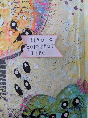 Mixed Media Art Journal 1