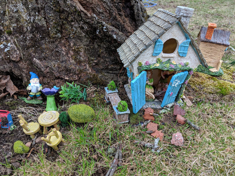 Fairy Garden at the New House 2