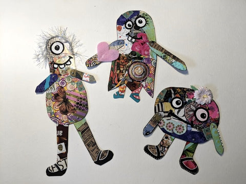 Scrap Paper Monsters
