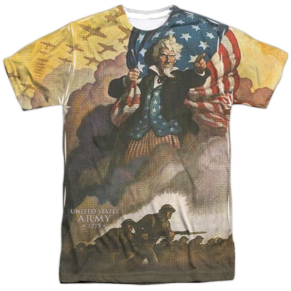 ARMY VINTAGE POSTER ALL OVER 3D PRINT LICENSED DESIGNER TEE T-SHIRT