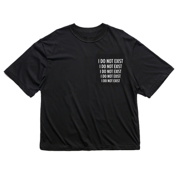 I Do Not Exist Drop Shoulder Oversized T-Shirt