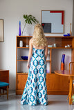For You Blue Maxi Dress