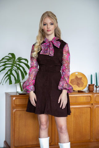Daisy Jane Dress - Chocolate