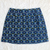 Vintage Fabric Mini Skirt