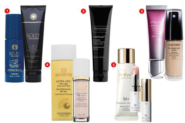 Vanity Fair: Protect the Skin You're In with Broad-Spectrum SPF Products | Soleil Toujours