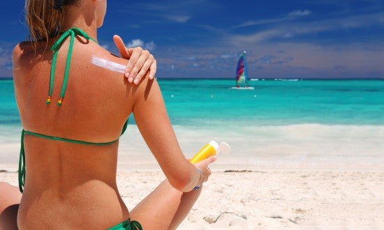 We suggest safe ways to tan like applying and reapplying sunscreen regularly.