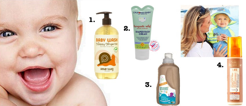 In honor of Will and Kate's Royal Baby, we're sharing our top four baby skin care tips.