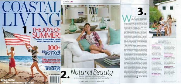 Coastal Living is featuring our CEO Valerie McMurray's summer lifestyle secret.