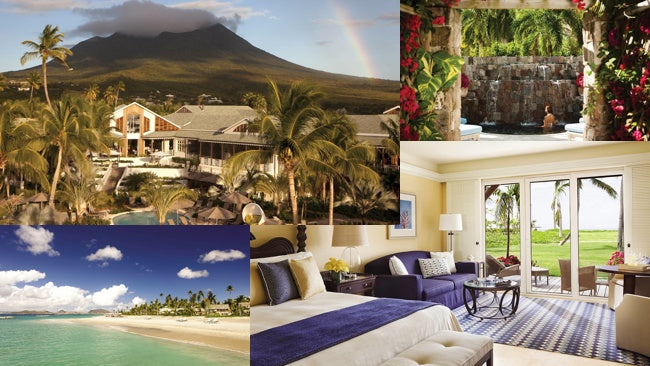 The resort and spa West Indies Four Seasons Nevin is a great destination for its views, accommodations, beaches and spa.