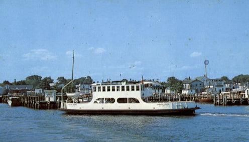 Our stylish CEO is spending Memorial Day Weekend in Shelter Island and taking this Shelter Island ferry to get there.