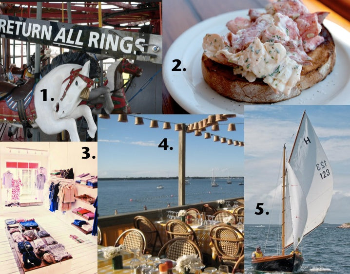 When spending Memorial Day Weekend in Shelter Island, our stylish CEO Valerie McMurray recommends the carousel in Greenport, a lobster role at Blue Canoe, shopping at Marie Eiffel, rosé at Sunset Beach and sailing on a doughdish.