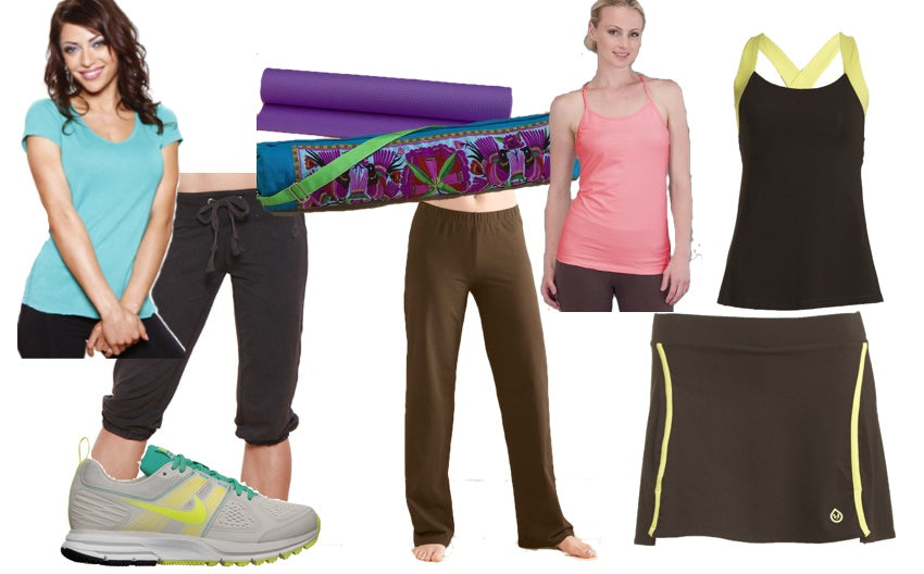 Get fit this spring with organic workout clothes.