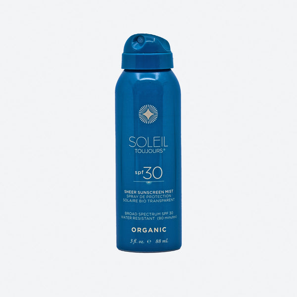Organic Sheer Sunscreen Mist SPF 30 - Travel