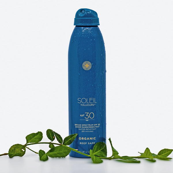 Organic Sheer Sunscreen Mist SPF 30