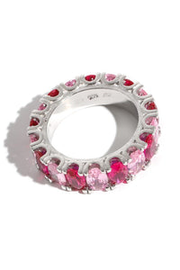 Pretty & Pink Gemstone Ring