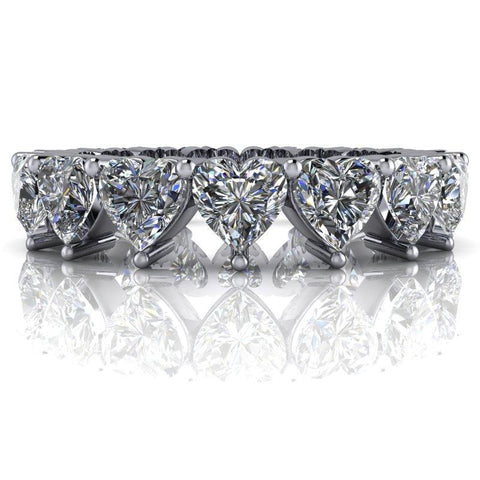 Pavé Band in Silver