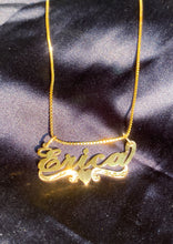 Load image into Gallery viewer, Custom Nameplate Necklace