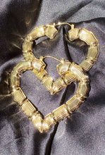 Load image into Gallery viewer, Gold Heart Bamboos
