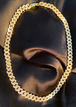 Load image into Gallery viewer, Pavé Cuban Link Necklace