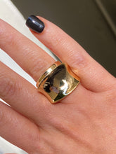 Load image into Gallery viewer, 2 Piece Gold Ring Set