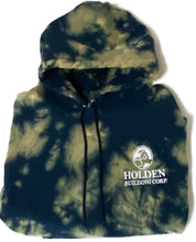 Load image into Gallery viewer, Vintage Holden Building Corp Tie Dye Champion Sweatshirt