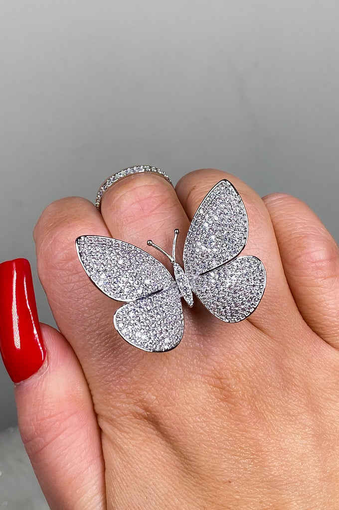 ButterFLY Ring in Silver