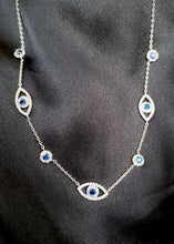 Load image into Gallery viewer, Evil Eye Protection Necklace