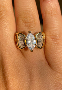 Grand Marquise Ring in Gold