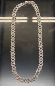 Pavé Cuban Link Necklace