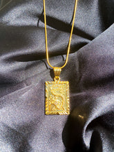 Load image into Gallery viewer, 24k Mystical Dragon Necklace