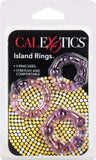 Silicone Island Rings (Lavender)