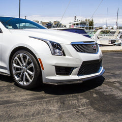 Cadillac ATS-V Carbon Fiber Front Lip and Side Skirts Kit (Splitter)