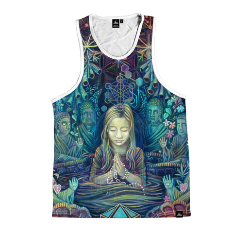 "Tank Top - Art by Ashely Foreman-  ""I know that language"""