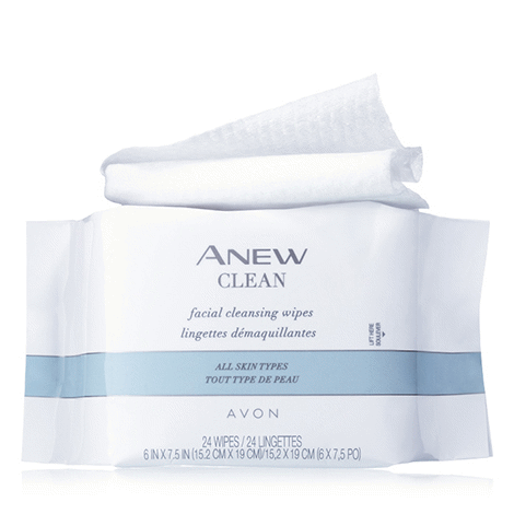 #AV1092608 Lingettes démaquillantes Anew Clean