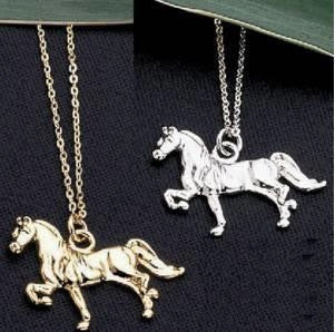 #JE0049 Horse necklace / Collier