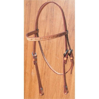 #HE0015 Headstall  / Bride BILLY COOK