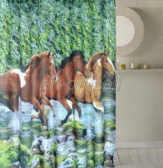 #DE0118 Shower curtain / Rideau de douche