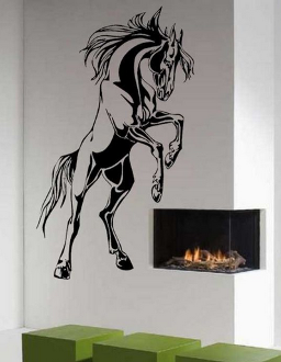#DE0218 Horse wall sticker / Décoration murale