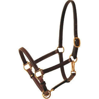 #HA0010 Leather halter / Licou de cuir (licol)