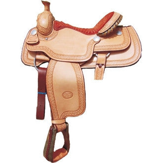 #SA0142 Roping saddle / Selle de roping BILLY COOK