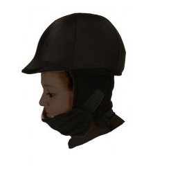 #CA0050 Showman Lycra Fleece Helmet / Showman Couvre Casque en Polar