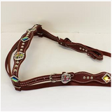 #HE0174 Headstall set / Ensemble de bride