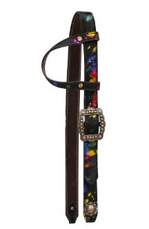 #HE0203 Ear headstall / Bride a oreille SHOWMAN