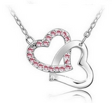 #JBI0034 Heart Necklace / Collier en coeur