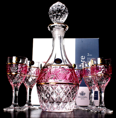 #JDE0003 Wine set / Ensemble de vin
