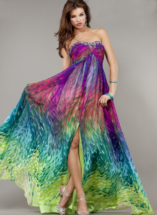 #JRO0035 Prom dress / Robe de bal