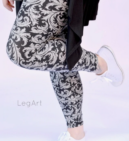 #LA100-2734 Leggings Baroque LEGART